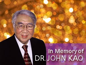 In Memory of ACEM Founder - Rev. Dr. John Kao